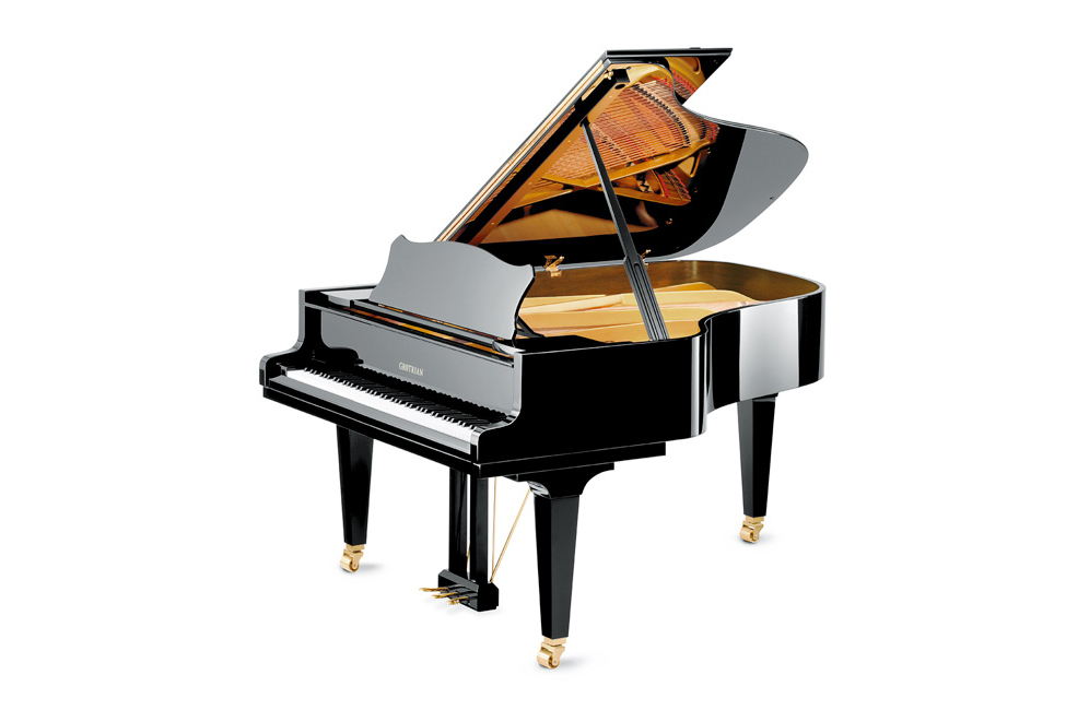 Grotrian-Steinweg Cabinet Grand Piano - Ben Wheeler Pianos