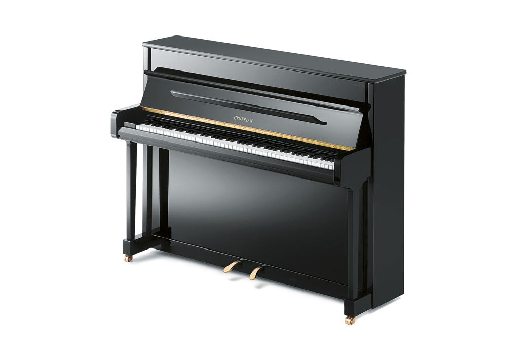 Grotrian-Steinweg Carat Upright Piano - Ben Wheeler Pianos