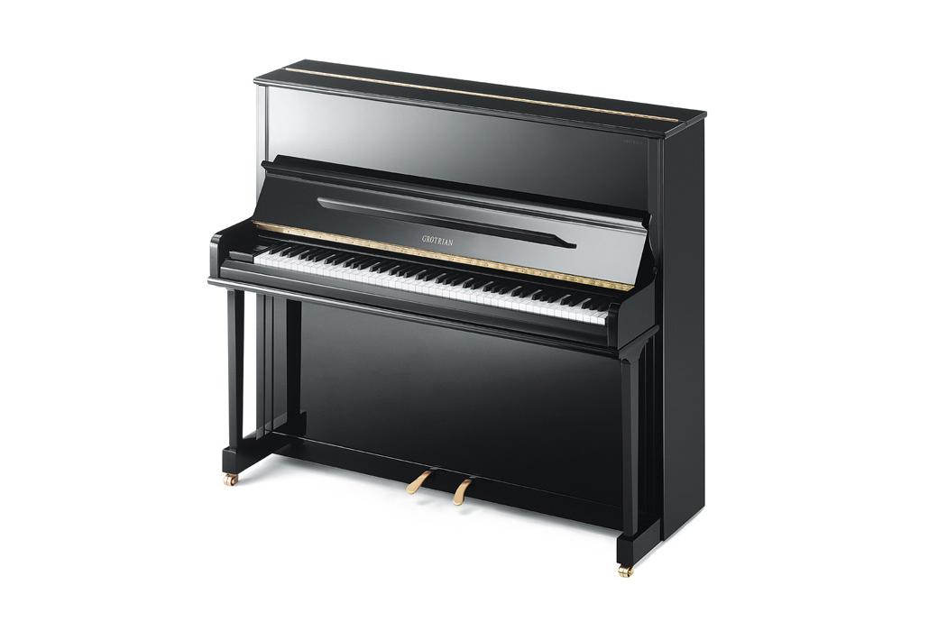 Grotrian-Steinweg Classic Upright Piano - Ben Wheeler Pianos