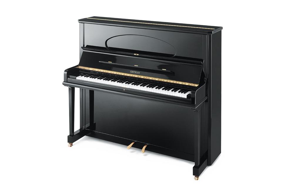 Grotrian-Steinweg Concertino Upright Piano - Ben Wheeler Pianos