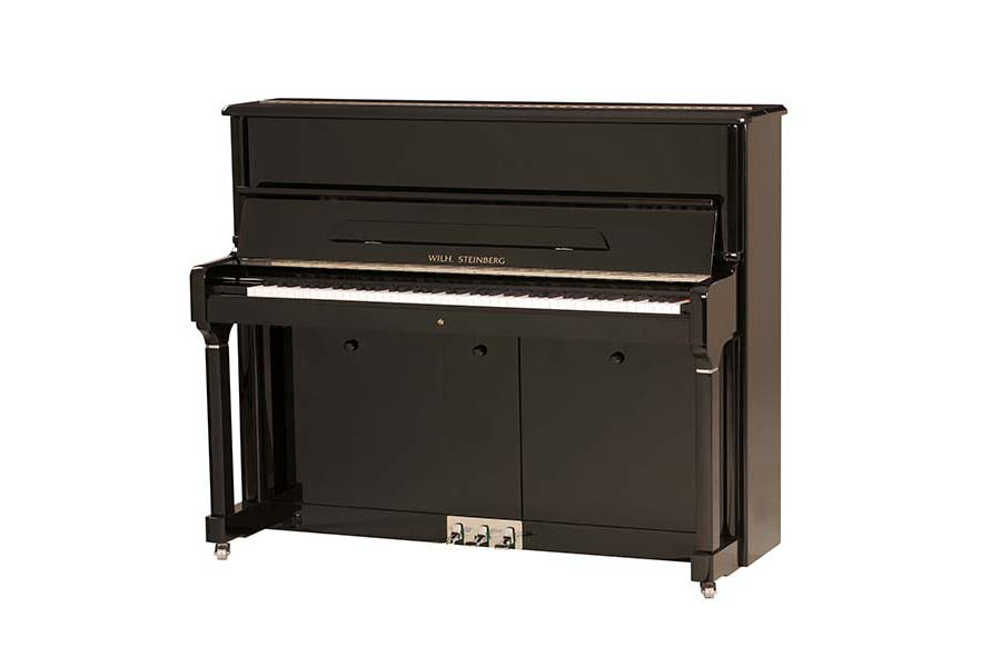 Wilh. Steinberg P-125E Upright Piano - Ben Wheeler Pianos