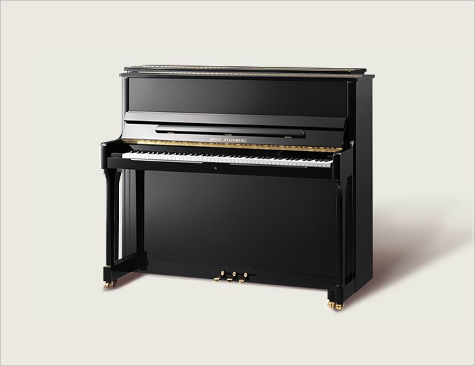 Wilh. Steinberg S-125 Upright Piano - Ben Wheeler Pianos